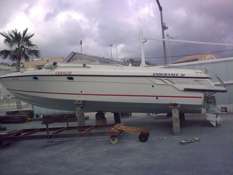 Cranchi endurance 31 in maiorca barche a motore usate for Noleggio della cabina del parco cittadino