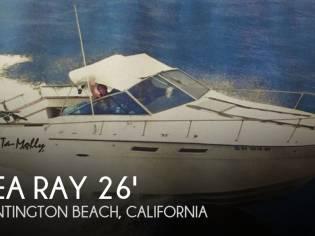 Sea Ray 260 Weekender