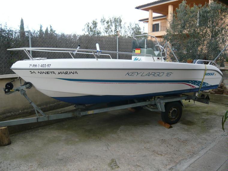 Sessa key largo 16 in maiorca barche a motore usate for Barche al largo con cabine