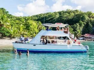 Custom 42' Power Catamaran