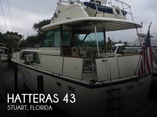 Hatteras 43 Double Cabin