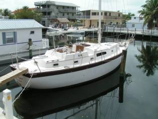 37 foot Irwin Sailboat