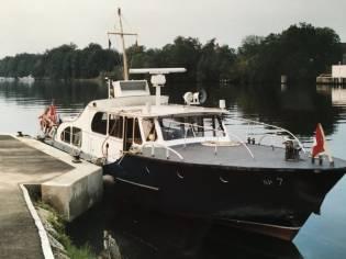Ex Duitse Politieboot Sportboot