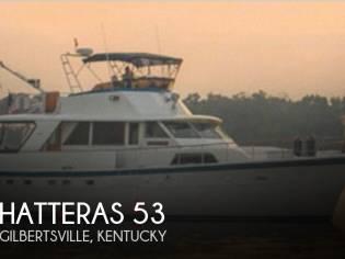 Hatteras 53