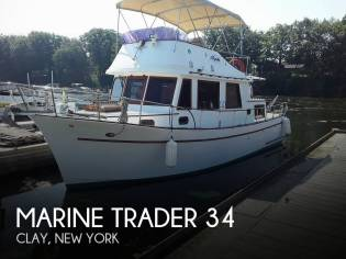Marine Trader Trawler 34