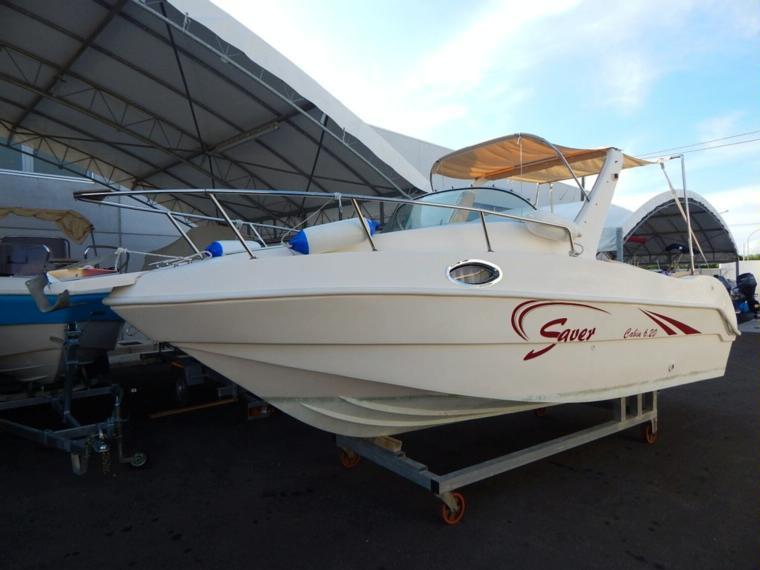 Fino ad 8 metri saver 620 in puglia barche a motore for Barche al largo con cabine