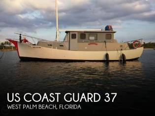 US Coast Guard 37 Motor Life Boat