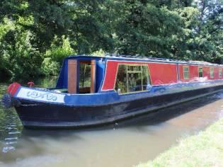 Narrowboat Blackprince 57' Semi Trad