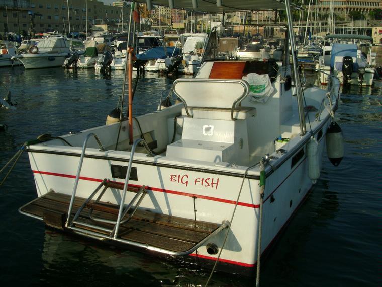 Pilotina fisherman 23 delfino in m molo vecchio barche for Barche al largo con cabine