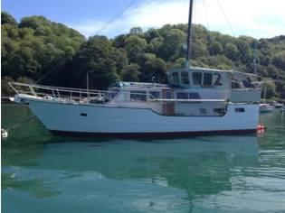 Custom Steel Motor Yacht