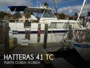 Hatteras 41 TC