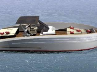 Italian Vessels Freedom 42 open Entrobordo
