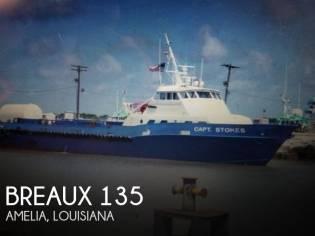 Breaux 135 Crew Passenger Boat