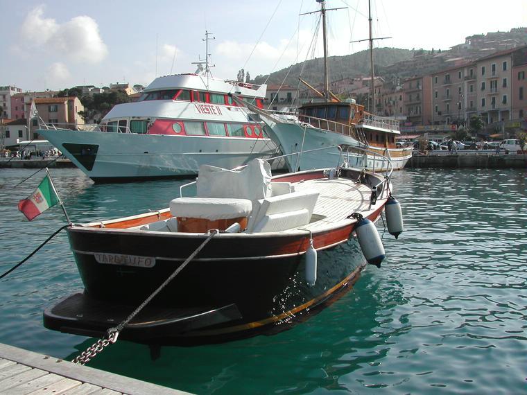 gozzo bani 750 in toscana barche a motore usate 10098