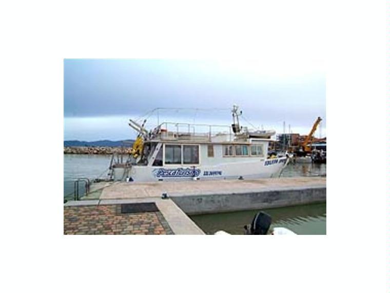 Imbarcazione da pesca professionale in lazio barche a for Barche al largo con cabine