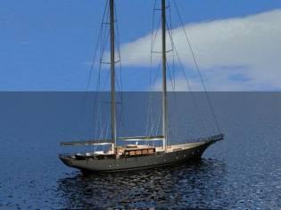 Custom-Craft 36 metre steel sailbaot