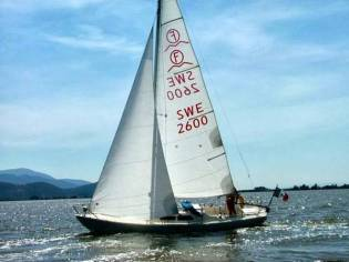 International Folkboat Swe 2600