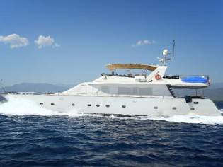 Motor Yacht Custom steel yacht