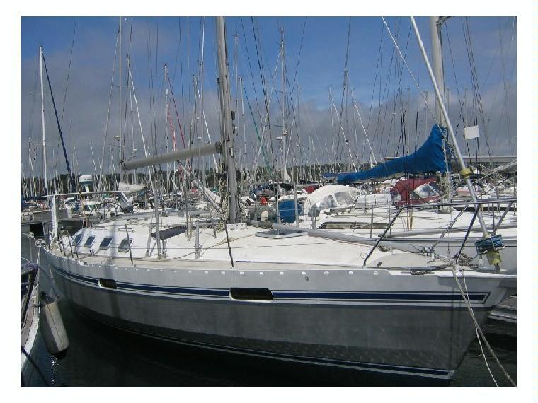Ovni 385 in finisterre barche a vela da crociera usate for Accessori barca vela