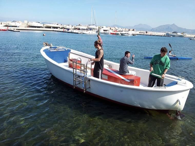 Gozzo in vtr in pto arenella lance usate 66567 inautia for Barca lancia vetroresina