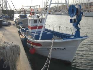 Barca de pesca de artes menores