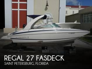 Regal 27 FasDeck