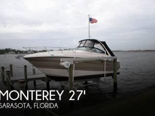 Monterey 270 Sport Cruiser