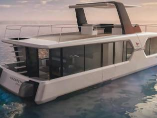 AQUADOMUS 1200 - Houseboat