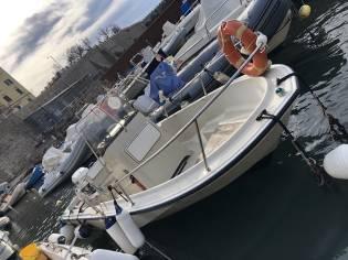 Boston whaler 17 outrage