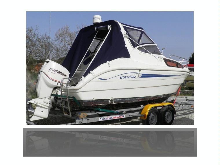 Coverline 640 cabin in lazio barche a motore usate 69486 for Barche al largo con cabine