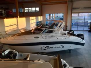 Saver 750 Cabin -Ausstellungsboot Interboot