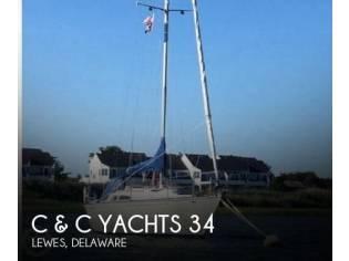 C & C Yachts 34