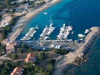 Port de Porto-Pollo Corsica