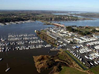 Port d'Arzal-Camoël Morbihan