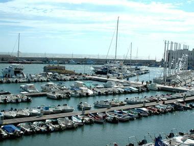 Porto turistico di Bisceglie Puglia