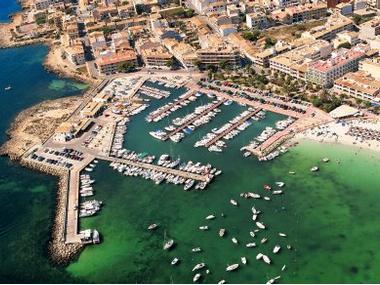 Puerto Colonia Sant Jordi Maiorca