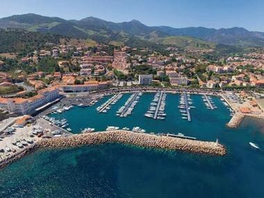 Port de Banyuls sur Mer Pirenei Orientali
