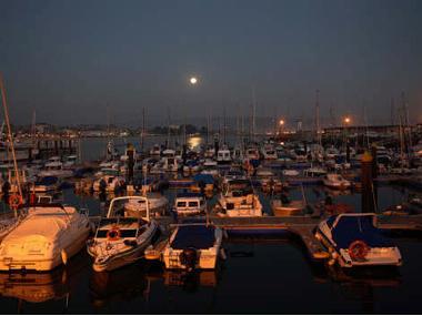 Puerto deportivo Cangas Pontevedra