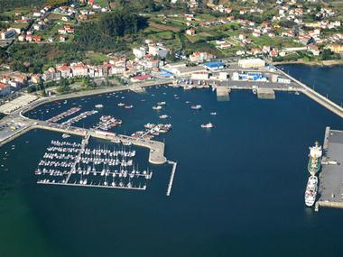 Puerto de A Pobra do Caramiñal La Coruña
