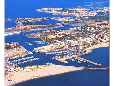Port de Port Barcarès Pirenei Orientali