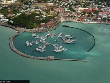 St. Martin - Marina Fort Louis Antille Olandesi