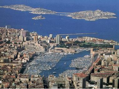Port Vieux de Marseille Bocche del Rodano