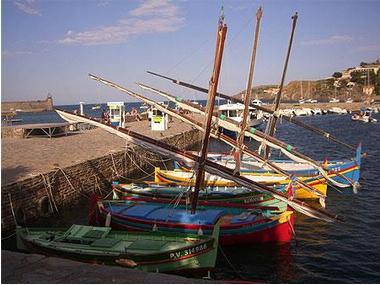 Port de plaisance de Collioure Pirenei Orientali