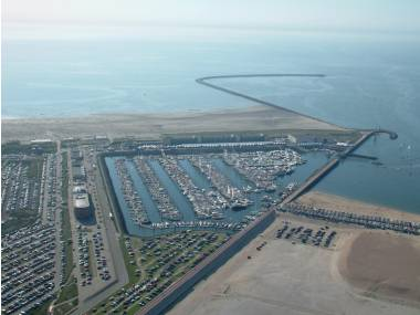Seaport Marina IJmuiden Olanda (Paesi Bassi)