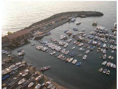 Porticciolo di Marina di Cassano (Piano di Sorrento) Campania