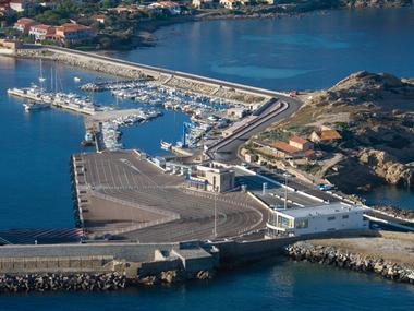 Port de l'Ile Rousse Corsica