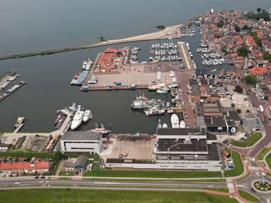 Haven van gemeente Urk Flevoland