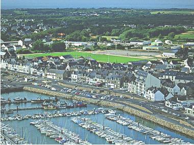 port de plaisance de La Turballe Loira Atlantico
