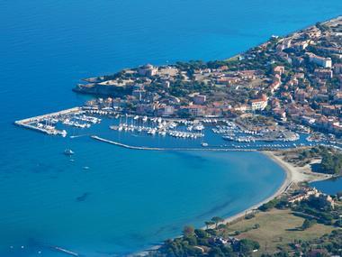 Port de plaisance de Saint Florent Corsica