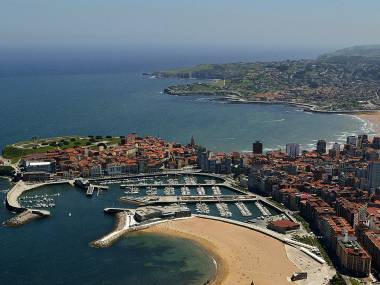 Puerto Deportivo de Gijón Asturie